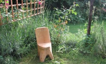 coin de terrasse du sauna